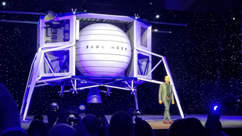 Elon Musk goes after Bezos' Moon lander with lewd joke