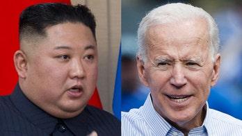 Too far? Trump invokes Kim in denigrating Biden