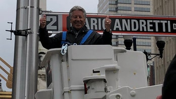 Indianapolis street named after Mario Andretti to celebrate 50th anniversary of his Indy 500 win