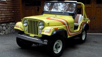 Rare 1973 CJ-5 Super Jeep listed on Ebay for $1 million