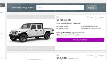 The truth behind the $1,000,000 Jeep Gladiator pickup