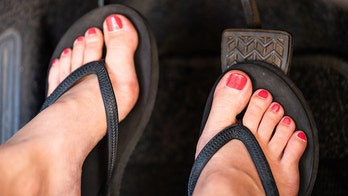 Driving in flip-flops isn't illegal, but you can still be fined thousands if this happens