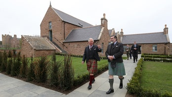 Prince Charles opens a bed-and-breakfast at a Scottish castle
