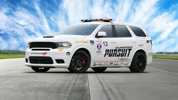 Dodge Durango SRT Pursuit is the most-powerful 'police' SUV