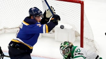 St. Louis Blues hero's son has an emotional reaction to dad's series-clinching goal