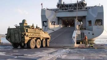 Military sealift may need more help to get combat vehicles to Europe