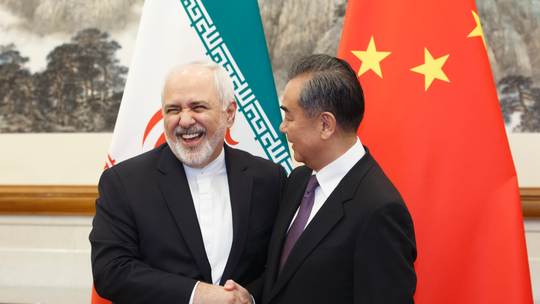 China, Iran foreign ministers meet amid Middle East tensions