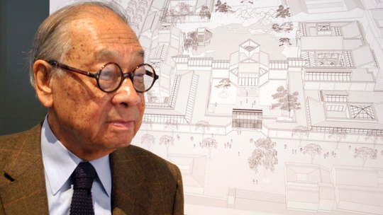 I.M. Pei's legacy stretched from the West to the East