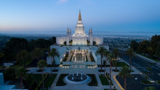 Mormon temple long shrouded in secrecy briefly opens doors to the public