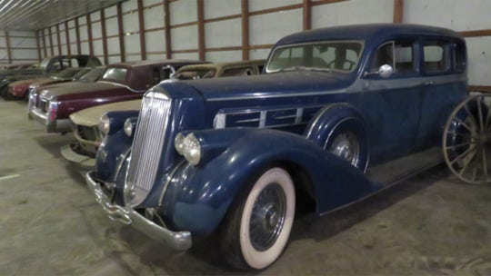 Car collector's 'dirty little secret' discovered after death