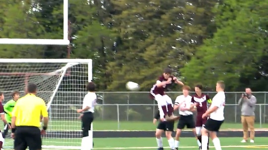 Iowa high school soccer player scores 'butt' goal during playoff game