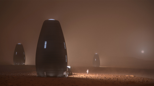 Here's the winner of NASA's 3D-printed Mars habitat challenge