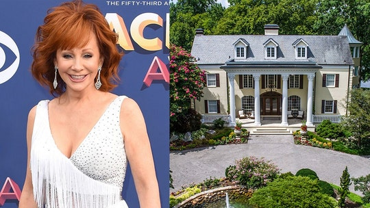 Reba McEntire's former Tennessee mansion renting for $3G a night