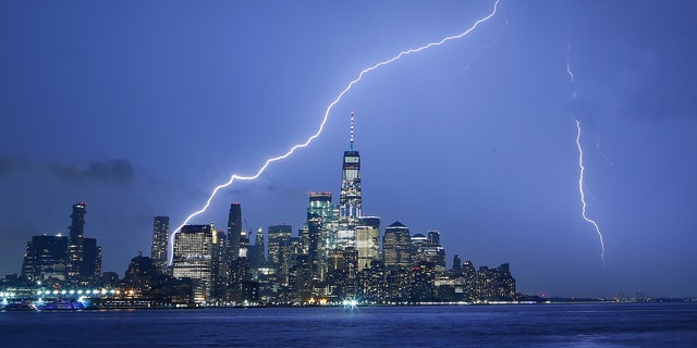 Lightning strikes in the U.S. about 25 million times each year, according to the National Weather Service.