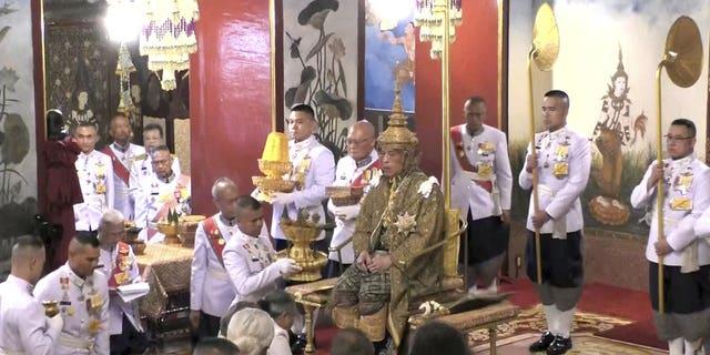 Westlake Legal Group 2000-5 Thai king officially crowned, kick-starting three-day long coronation ceremony Lukas Mikelionis fox-news/world/world-regions/asia fox news fnc/world fnc article 97dfa0b0-b27c-50d0-97ec-27e04d3fbd05