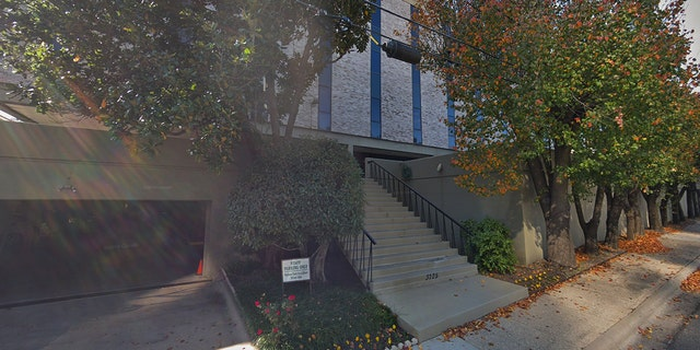 Police said they executed search warrants at three locations on Wednesday including at The Catholic Diocese headquarters in Dallas on Blackburn Street (pictured here).