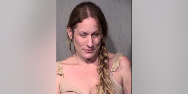 Vanessa Santillan, 40, was arrested for allegedly running her boyfriend over with her car.
