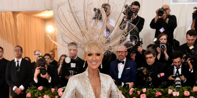 Met Gala 2019: Celine Dion Delivers Feathers & Fringe On The Red Carpet!