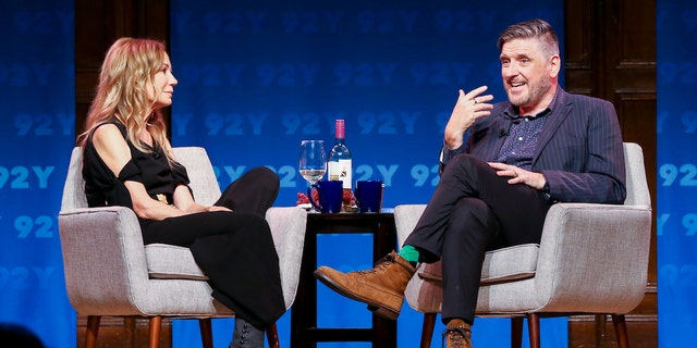Craig Ferguson in Conversation with Kathie Lee Gifford at the 92Y in New York City