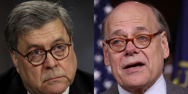 Attorney General William Barr, left, is the target of an impeachment resolution by U.S. Rep. Steve Cohen, D-Tenn.