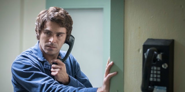 """This image released by Netflix shows Zac Efron in a scene from """"Extremely Wicked, Shockingly Evil, and Vile."""""""