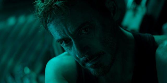 "Robert Downey Jr., who plays Tony Stark aka Ironman, in a scene from ""Avengers: Endgame."""