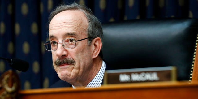 House Foreign Affairs Chairman Rep. Eliot Engel, D-NY, listens during committee hearing on Kosovo's Wartime Victims, Tuesday April 30, 2019, on Capitol Hill in Washington. (AP Photo/Jacquelyn Martin)