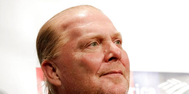FILE: Chef Mario Batali attends an awards event in New York.