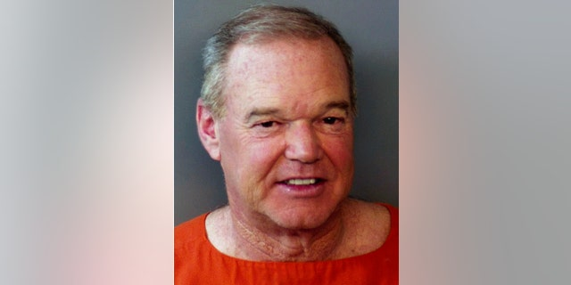 Al Unser Jr. is photographed after his arrest Monday morning. (Hendricks County Sheriff's Office via AP)
