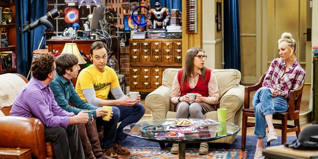 The cast of the CBS series 'The Big Bang Theory' filmed their final episode.