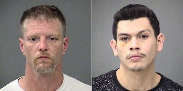 Brandon Kaiser, left, and Alfredo Vazquez, the two men suspected by police -- but not charged yet -- in the shootings of two judges in Indianapolis.