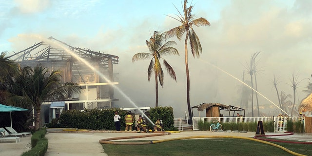 All guests were reportedly able to evacuate safely and no serious injuries were reported.