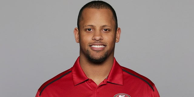 Lowe, a former analyst for the 49ers and wide receiver at the University of Oregon, subdued a person with a gun who appeared on a Portland, Oregon high school campus Friday, May 17, 2019. Lowe is now a coach at Parkrose High School. (AP Photo/File)
