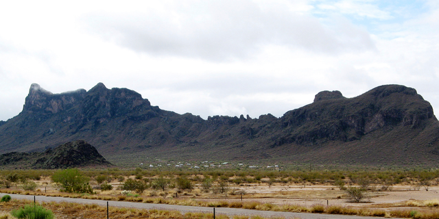 FILE - This April 4, 2009, file photo shows Picacho Peak State Park in Picacho, Ariz. Authorities are investigating the death of a 16-year-old boy during a hike with a Boy Scouts troop in the Arizona desert. (AP Photo/Ross D. Franklin, File)