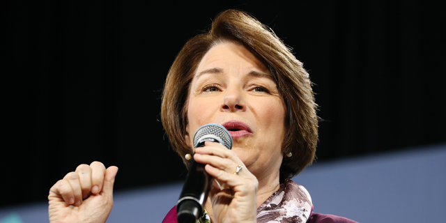 On Friday, Sen. Amy Klobuchar D-Minn., released a plan to spend $100 million over a decade to improve mental health care and fight substance abuse.(AP Photo/John Locher, File)