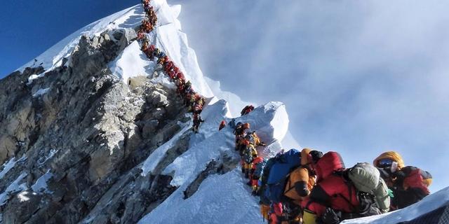 About half a dozen climbers died on Everest last week most while descending from the congested summit during only a few windows of good weather each May.