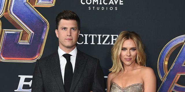 Westlake Legal Group ContentBroker_contentid-d54679f31c714bd3be00877745c63c39 Scarlett Johansson and Colin Jost engaged after 2 years of dating Nicole Darrah fox-news/person/scarlett-johansson fox-news/entertainment/tv fox-news/entertainment/saturday-night-live fox-news/entertainment/movies fox-news/entertainment/celebrity-news fox news fnc/entertainment fnc article 7dd92400-a180-51ce-b11d-62982fc7d466