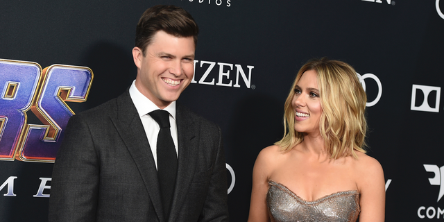Colin Jost and Scarlett Johansson got engaged in May 2019.