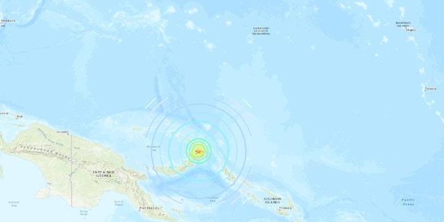 A magnitude 7.5 quake in Papua New Guinea spurred tsunami warnings.