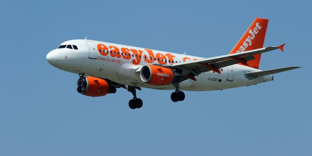 Easyjet passengers erupted in cheers when an 'aggressive' couple was removed from the flight.