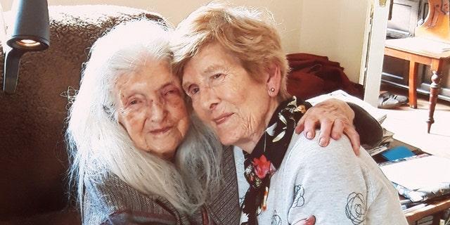 Eileen Macken, right, finally found her mother.