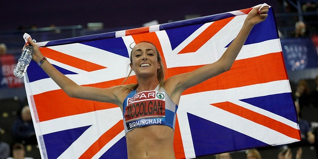 Eilish McColgan says she had medals stolen from her home.