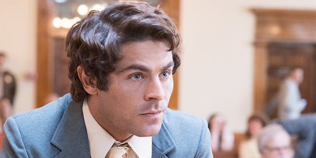 "Zac Efron as Ted Bundy in Netflix's ""Extremely Wicked."""