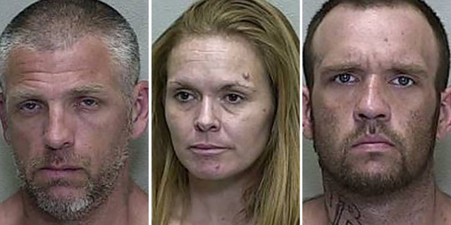 Lucian Evans, Mary Elizabeth Durham and Brandon Hayley. All three were charged in the incident with Michael Hart.