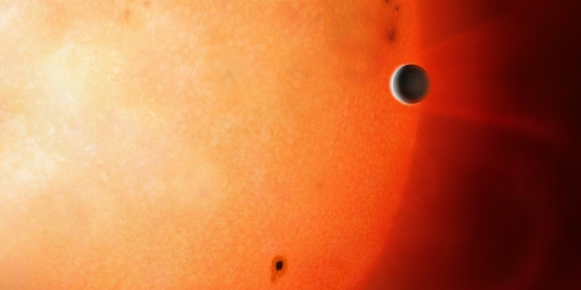 Exoplanet NGTS-4b - also known as 'The Forbidden Planet' (Credit: University of Warwick / Mark Garlick)
