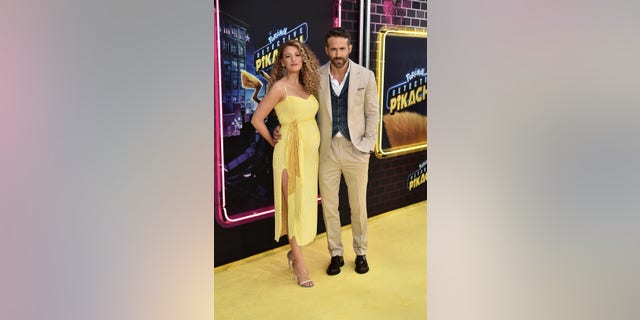 "Blake Lively and Ryan Reynolds attend the premiere of ""Pokemon Detective Pikachu"""