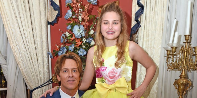 Anna Nicole Smith's Daughter Dannielynn Birkhead, 12, Returns to Kentucky Derby