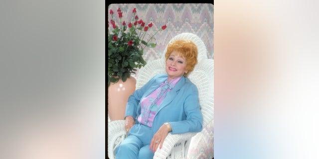 Lucille Ball circa 1986.