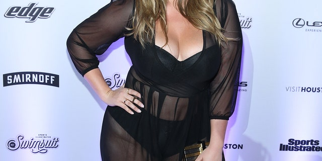 Hunter McGrady attends Sports Illustrated Swimsuit 2017 Launch Event at Center415 Event Space on February 16, 2017 in New York City. (Photo by Rob Kim/FilmMagic,)