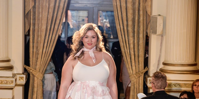 "Hunter McGrady attends Andrew Warren of Just Drew NYC Presents Special Collection at ""City of Hope"" Luncheon at The Plaza Hotel on May 8, 2017 in New York City. (Photo by Presley Ann/Patrick McMullan via Getty Images)"
